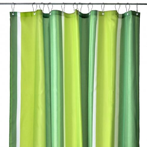 gestreifter duschvorhang bunte streifen f r gute laune beim duschen kramsen. Black Bedroom Furniture Sets. Home Design Ideas