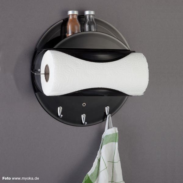 k chenrollenhalter aus 3 schallplatten kramsen. Black Bedroom Furniture Sets. Home Design Ideas