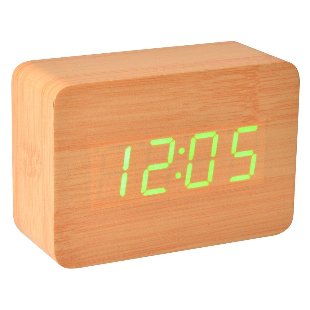 Startseite » Wohnen & Lifestyle » Uhren & Wecker » Wecker Holz LED ...
