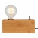 Lampe Bambus