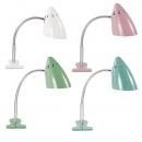 Klemmlampe Waterquest Retro Design alle Farben