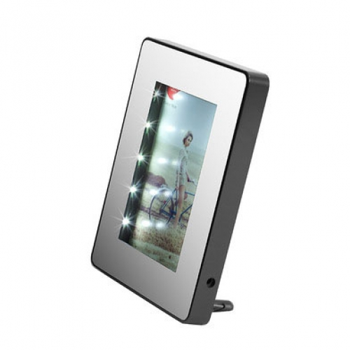 magic led bilderrahmen 13x18 mit beleuchtung spiegel kramsen. Black Bedroom Furniture Sets. Home Design Ideas