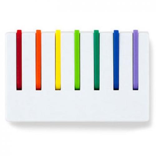 Kleine hakenleiste regenbogen schl sselboard und mini for Garderobe hakenleiste