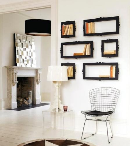 b cherregal bigbarok design regal metall bilderrahmen kramsen. Black Bedroom Furniture Sets. Home Design Ideas