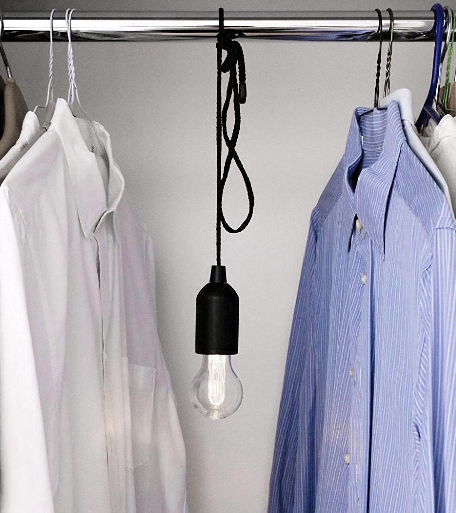 Edison Led Lampe An Der Schnur Kabellose Glühbirne Zugschalter