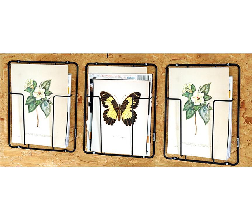 Zeitschriftenhalter Frame-1 Wandhalter Magazine- kramsen