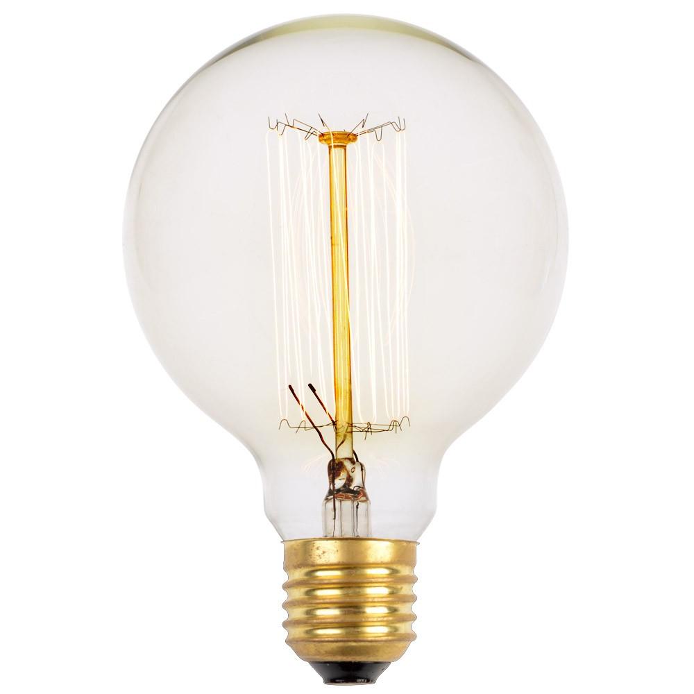 Glühbirne Deko deko glühbirne mit glühfaden 40 watt kugel glühle kramsen