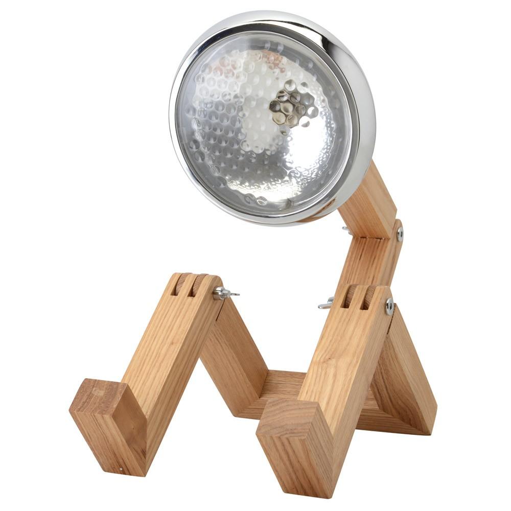 tischlampe mister woody scheinwerfer mit beinen kramsen. Black Bedroom Furniture Sets. Home Design Ideas