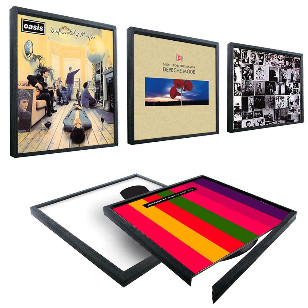 Rahmen für Schallplatten Wandrahmen für LPs- kramsen