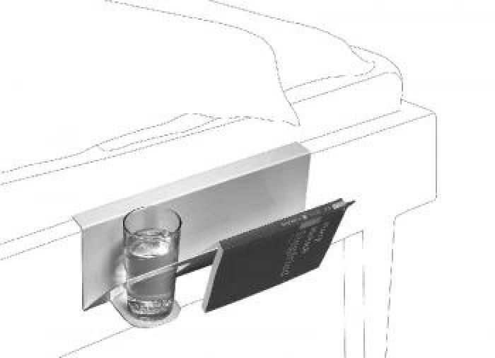 Hanno Nachttisch Für Die Bettkante Zum Einhängen Kramsen